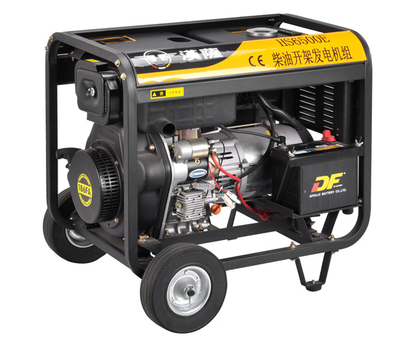 5kw小型便携柴油发电机——hs6500e