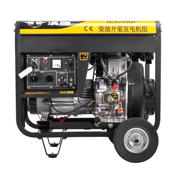 柴油发电机hs6500e