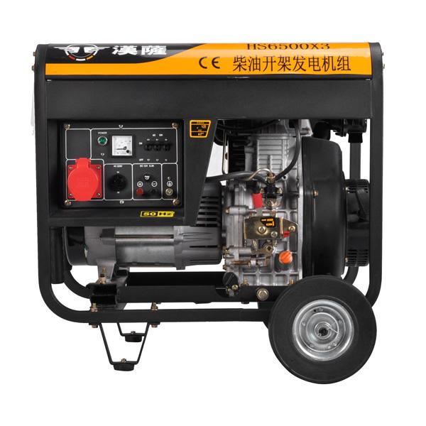柴油发电机HS6500X3