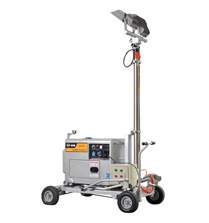 汉萨小型移动照明灯塔发电机——HS6500T