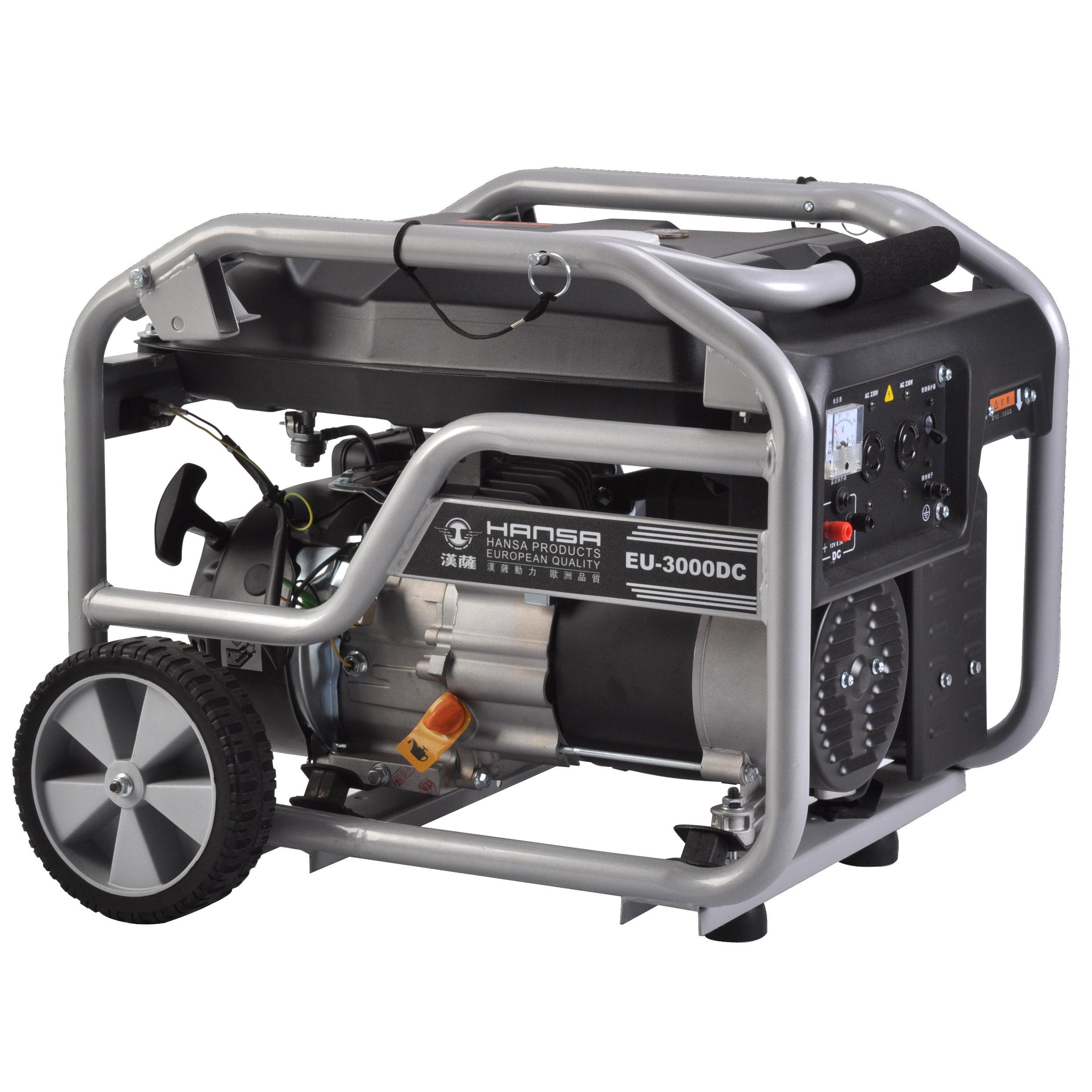 3kw单相汽油发电机——EU-3000DC