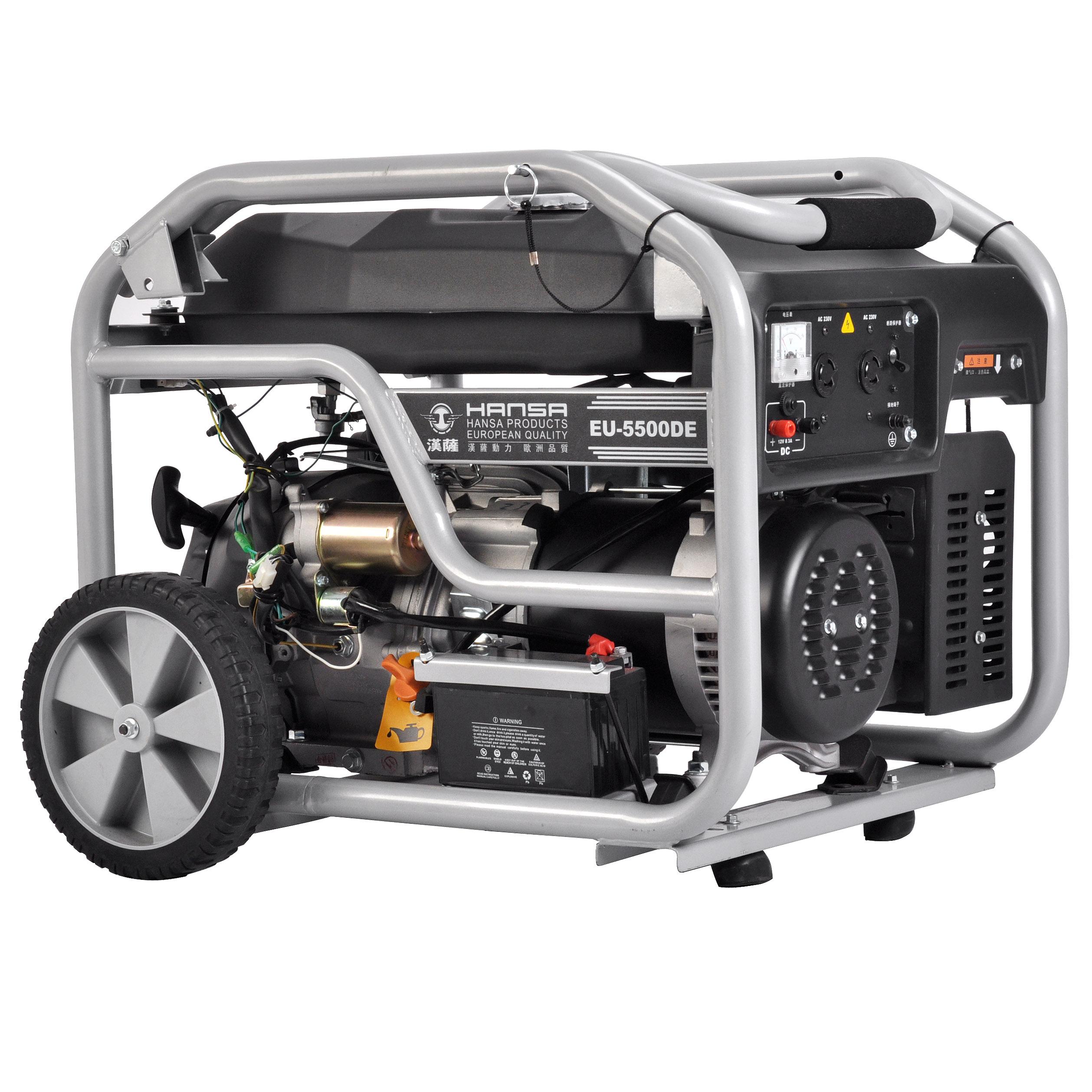 5KW单相汽油发电机——EU-5500DE