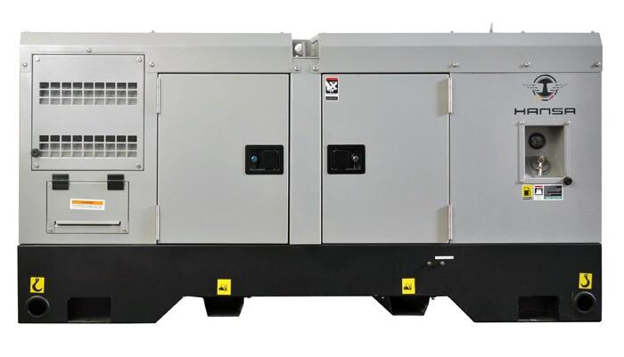 100KW全自动柴油发电机——HS-125/S