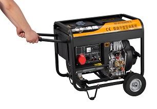 5KW柴油发电机//三相柴油发电机//手启动柴油发电机