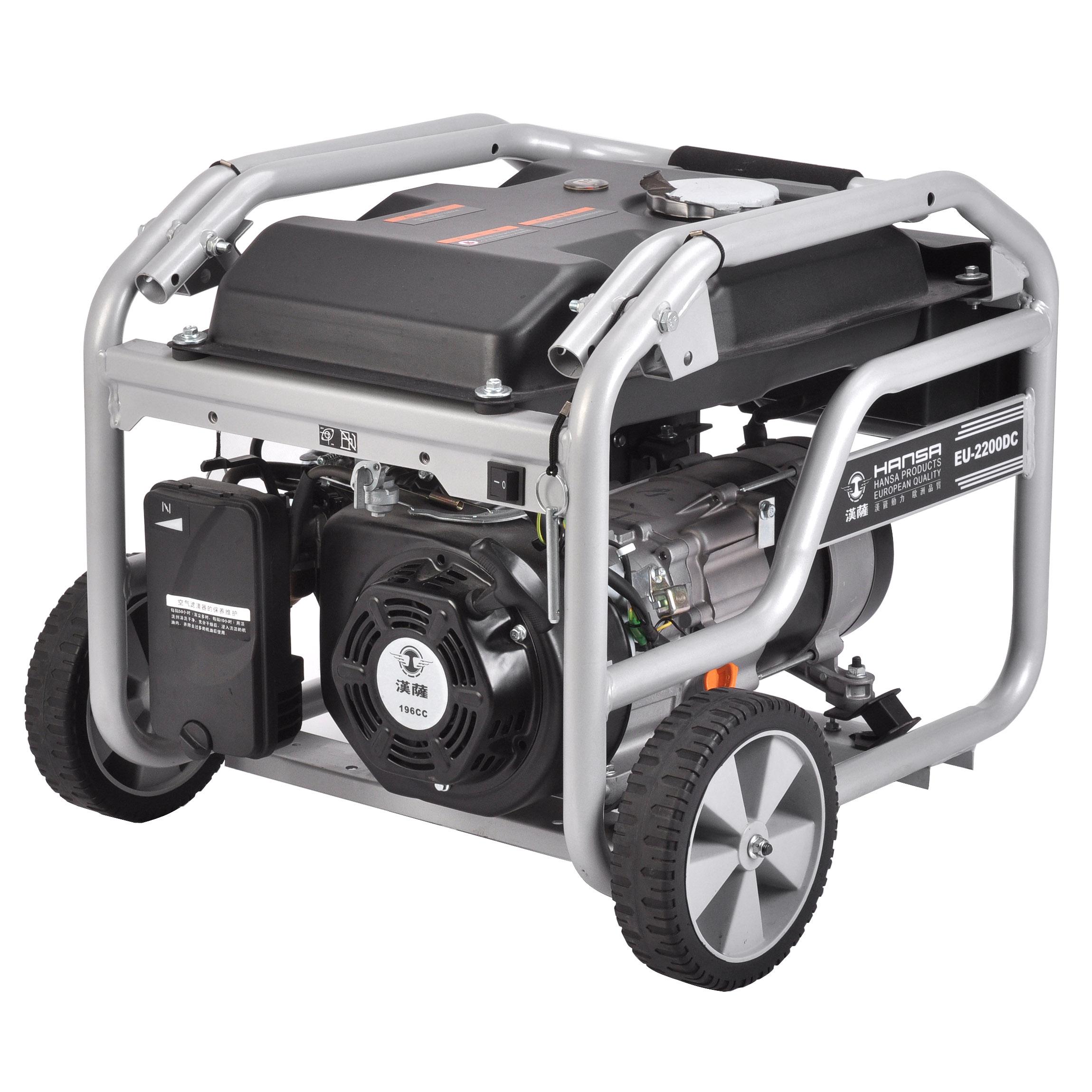 2KW汽油发电机//单相汽油发电机//便携式发电机