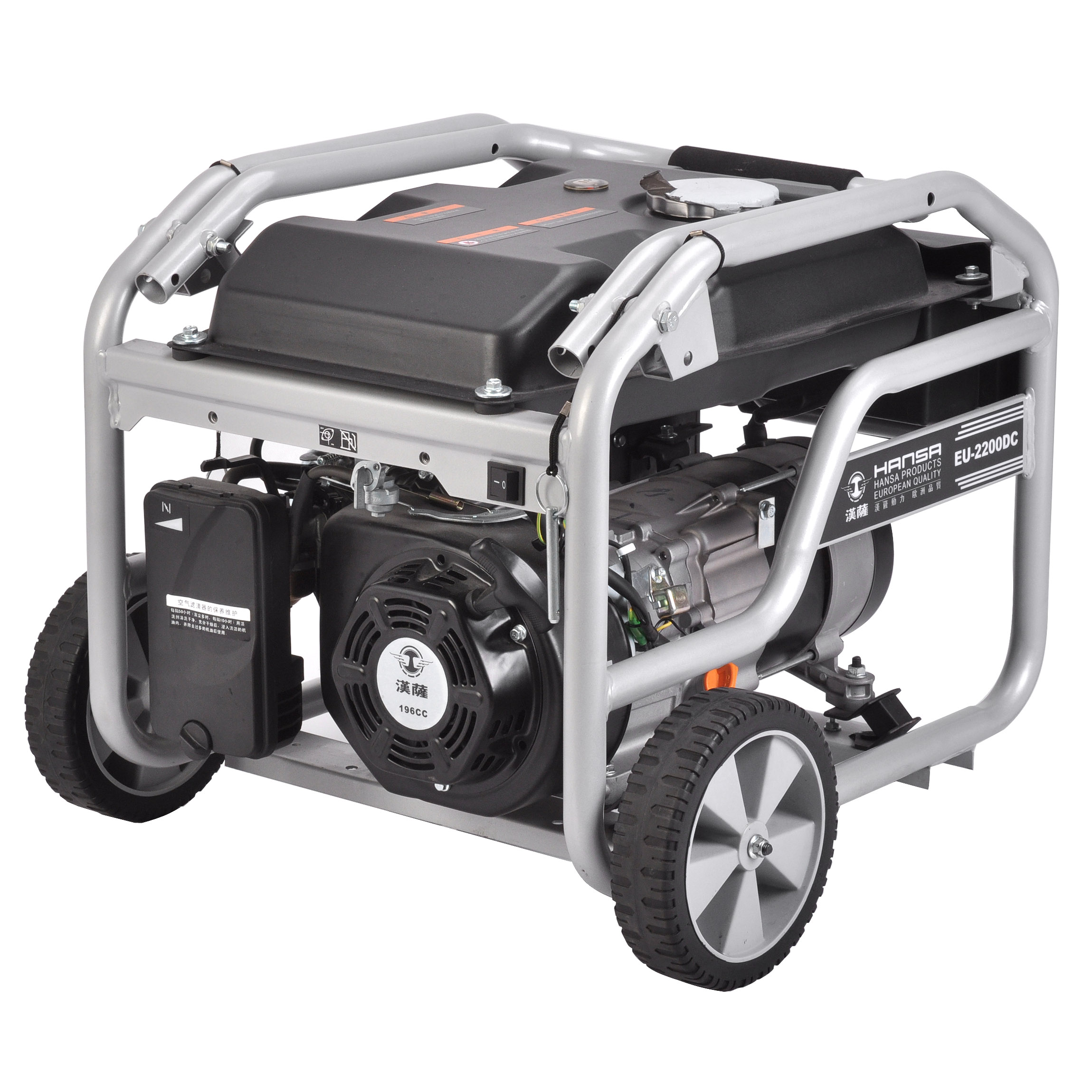 2KW小型汽油发电机