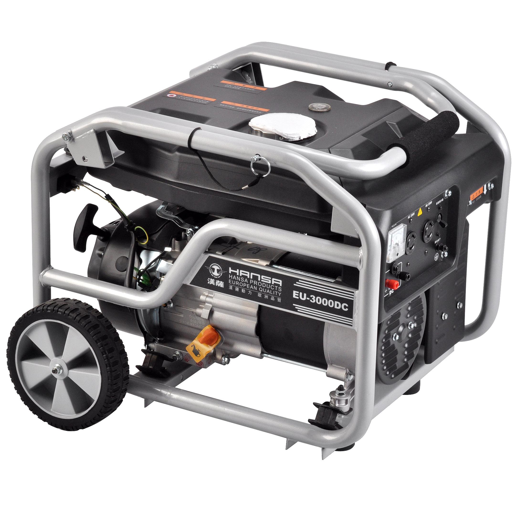 3KW小型家用汽油发电机——EU-3000DC