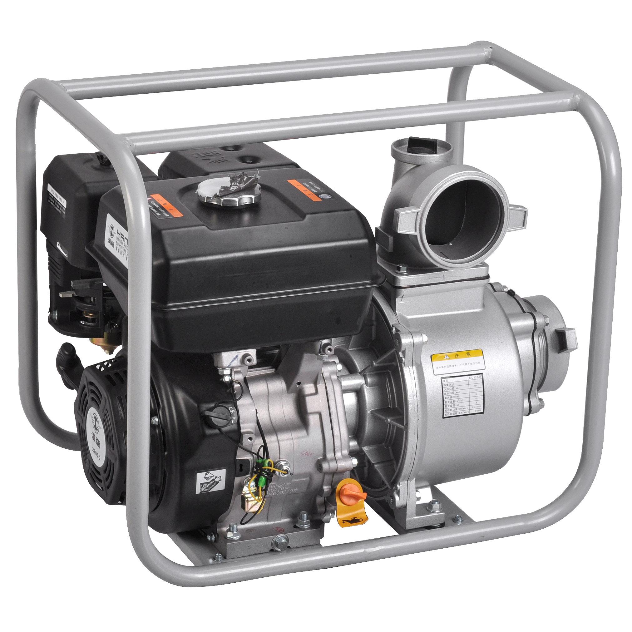 4寸汽油水泵抽水量大——EU-40B