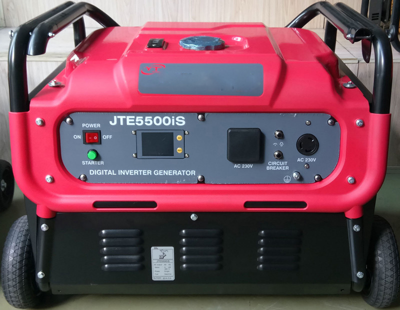 8KW数码遥控变频发电机