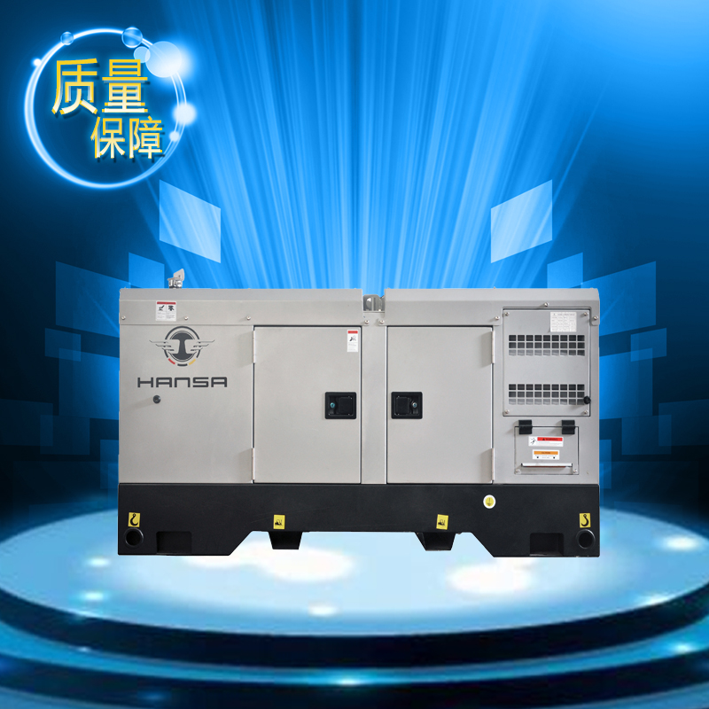 双气缸柴油发电机//电启动柴油发电机//15KW柴油发电机