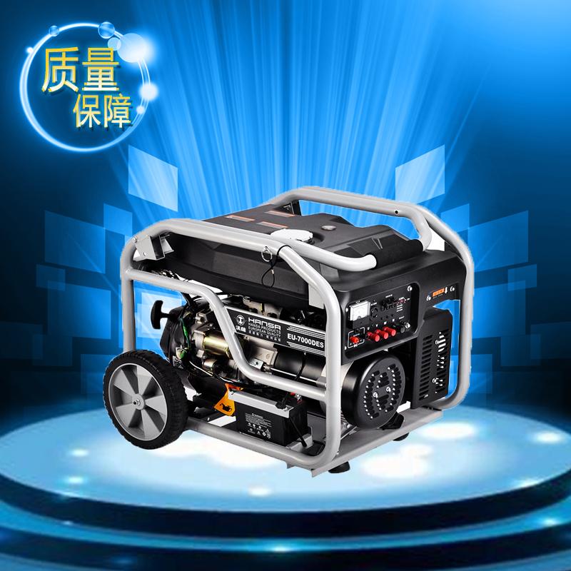 6KW汽油发电机//三相汽油发电机//电启动汽油发电机